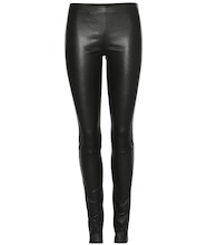 Moto leather leggings