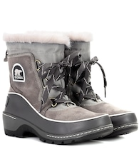 Torino leather and suede snow boots