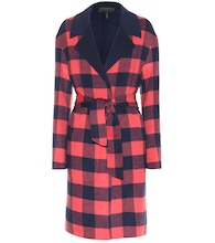 Sven reversible wool-blend coat