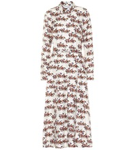 Mariano printed silk dress