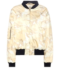 Greenwood printed bomber jacket