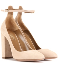 Alix 105 suede pumps