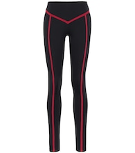 Corset high-rise leggings