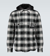 7 MONCLER FRAGMENT Danver checked jacket