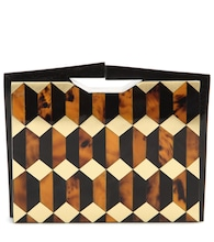 mytheresa.com exclusive Kepler shell box clutch