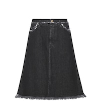 Gisella A-line denim skirt