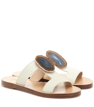 Hades Agate leather sandals