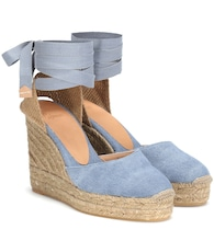 Carina canvas wedge espadrilles
