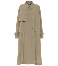 Alexa cotton trench coat
