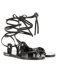 Anil leather gladiator sandals