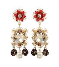 Exclusive to mytheresa.com – embellished clip-on earrings