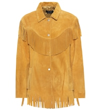 Abel fringed suede jacket