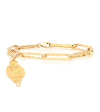 Exclusive to Mytheresa – The Stella 24kt gold-plated bracelet