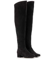 BB 40 suede over-the-knee boots