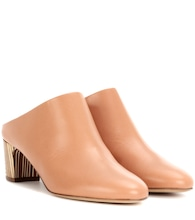 Bassett leather mules