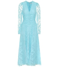 Annalee cotton-blend lace dress