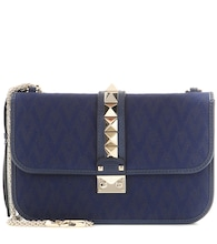 Valentino Garavani Lock Medium jacquard shoulder bag