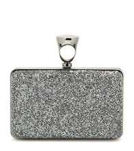 Micro Rock embellished box clutch