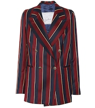 The Stella striped wool blazer