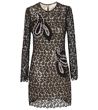 Geri embellished lace dress
