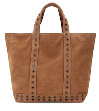 Shopper Medium Plus Cabas aus Veloursleder