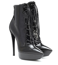 Betty 110 patent leather ankle boots