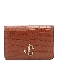 Exclusive to Mytheresa – Myah croc-effect leather wallet