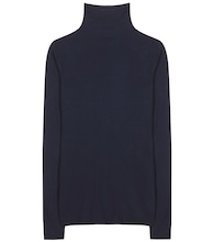 Talisia stretch cotton turtleneck sweater