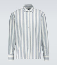 Saipen striped long-sleeved shirt