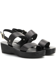 Dinami Sabot leather sandals