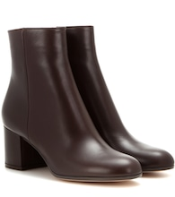Margaux Mid leather ankle boots