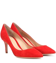 Gianvito 70 suede pumps
