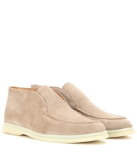 Stivaletti Open Walk in suede