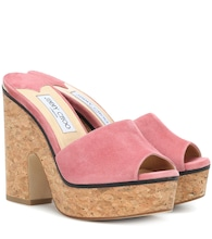 Deedee 125 suede sandals