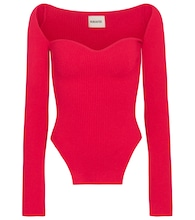 Exclusive to Mytheresa – Maddy ribbed-knit top