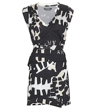 Feriel printed cotton mini dress