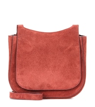 Hunting 7 suede shoulder bag