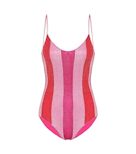 Exclusive to Mytheresa – Lumière striped swimsuit