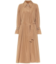 Ella technical trench coat