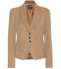 Wool and linen blazer