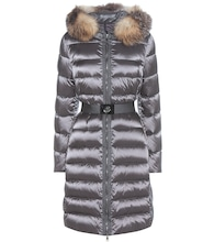 Tinuviel down coat with fur