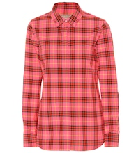 Crow Check cotton shirt