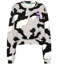 Exclusive to Mytheresa – printed cotton sweater