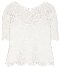 Colleen cotton lace top