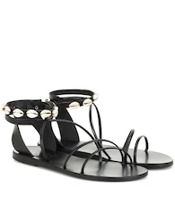 Exclusive to Mytheresa – Meloivia leather sandals