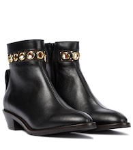 Steffi leather ankle boots