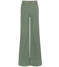 mytheresa.com exclusive Eryn wide-leg cotton trousers