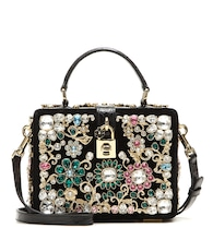 Dolce Box embellished shoulder bag
