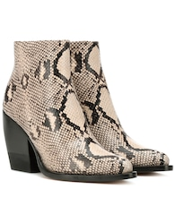 Rylee embossed leather boots