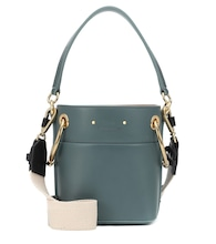 Mini Roy leather bucket bag